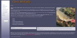 Chris McCully Author Website with blog